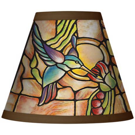 Hummingbird Light Set of Four Shades 3x6x5 (Clip-On)