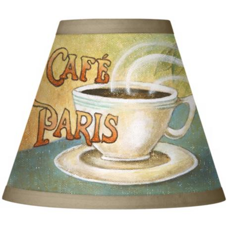 Cafe Paris Giclee Clip-On Set of Four Shades 3x6x5