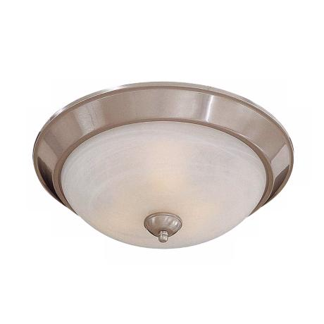 "Brushed Nickel 11 1/4"" Wide ENERGY STAR® Ceiling Light"