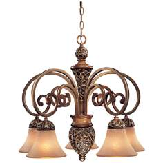 "Jessica McClintock Salon Grand 26"" Wide Chandelier"