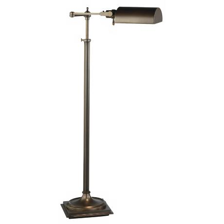 Robert Abbey Dark Brass Adjustable Pharmacy Floor Lamp