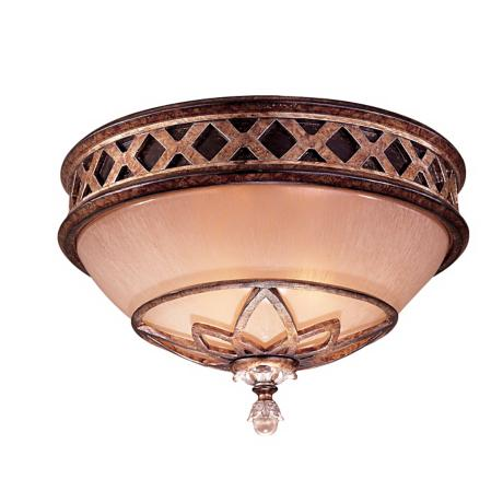 "Minka Aston Court Bronze 13"" Wide Ceiling Light Fixture"