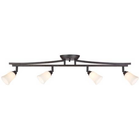 Pro Track® Square Rod 4-Light Rail Ceiling Light