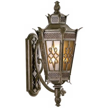"La Avenio Collection 42 1/2"" High Outdoor Wall Light Fixture"