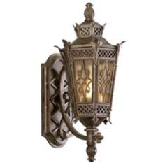 "La Avenio Collection 19"" High Outdoor Wall Light Fixture"