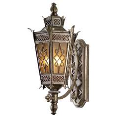 "La Avenio 32 1/2"" High Outdoor Wall Light"
