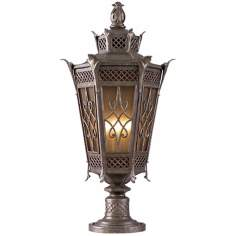 "La Avenio 32 1/2"" High Outdoor Post Light"