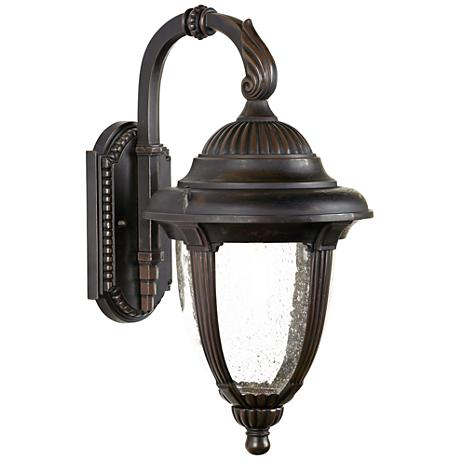 "Casa Sierra™ Seedy Glass 18  1/2"" High Outdoor Light"