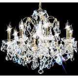 "James R. Moder Belle Wave Collection 24"" Wide Chandelier"