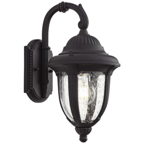 "Casa Sierra™ 14 1/2"" High Black Outdoor Wall Light"