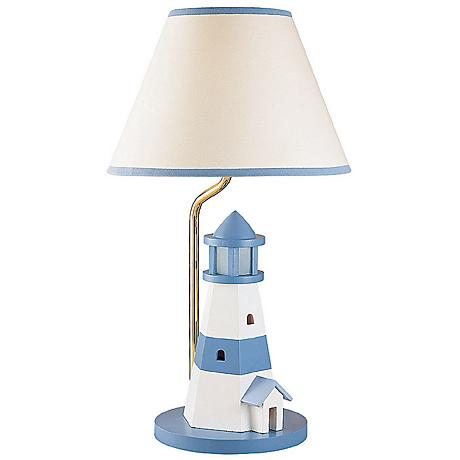 Lighthouse Night Light Table Lamp