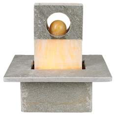 Portola Slate Table Fountain
