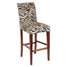 "Kenya Slipcovered Straight Leg 32 1/2"" High Barstool"