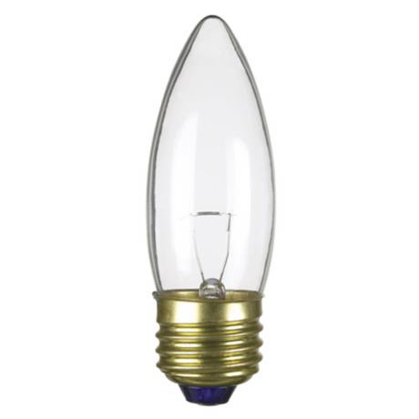 Candelabra 25-Watt 12-Volt Medium Base Light Bulb