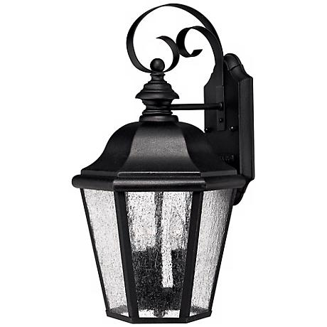 "Edgewater Collection Black 17 1/2"" High Outdoor Wall Light"