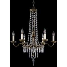 Schonbek Early American Six Light Chandelier (QS)