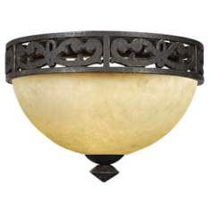 "La Parra Collection 13 1/2"" Wide Ceiling Light Fixture"