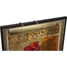 "House of Troy Traditional 24"" Wide Brass Picture Light"