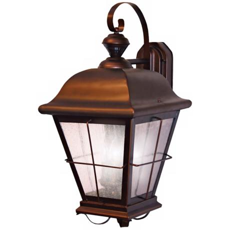 Chesapeake Style Antique Bronze ENERGY STAR® Outdoor Light