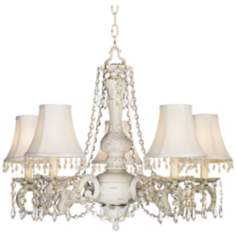 Kathy Ireland Chateau de Conde Five Light Chandelier