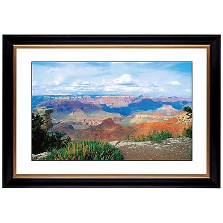 "Desert Vista Giclee 41 3/8"" Wide Wall Art"