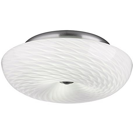 "Philips Inhale Collection 16"" Marta White Ceiling Light"