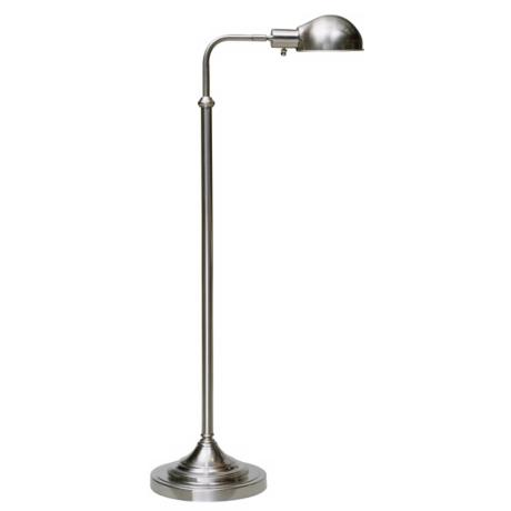 Robert Abbey Kinetic Brushed Chrome Pharmacy Floor Lamp