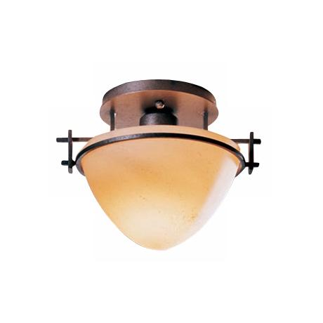 "Hubbardton Forge 9 1/4"" Wide Moonband Ceiling Light"