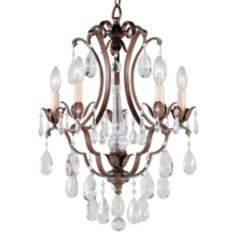 "Maison de Ville Collection 16"" Wide Five Light Chandelier"