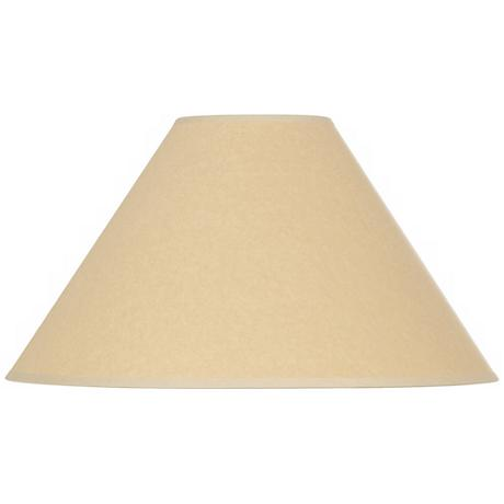 Kraft Paper Empire Shade 6x19x12 (Spider)
