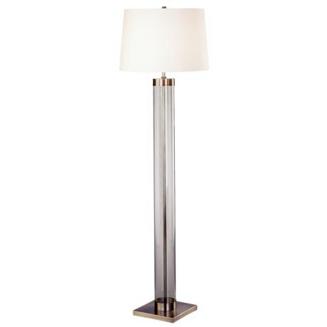 Robert Abbey Andre Antique Nickel Floor Lamp