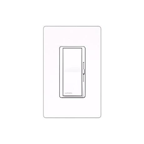 Diva Gloss White 600VA Magnetic Low Voltage Preset Dimmer