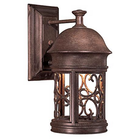 "Sage Ridge 12 3/4"" High Dark Sky Outdoor Wall Light"