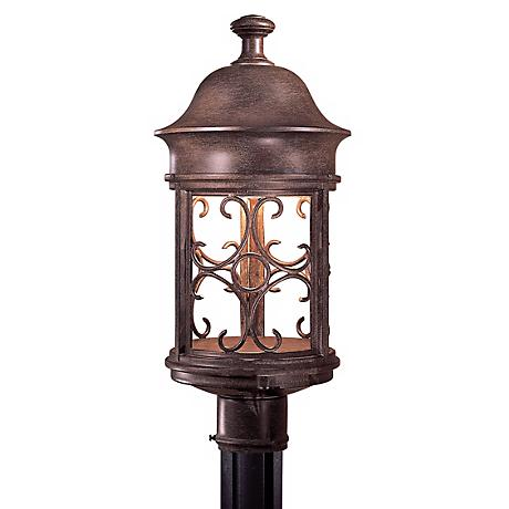Sage Ridge Collection Dark Sky Post Mount Light