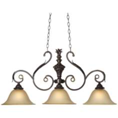 "Kathy Ireland Ramas de Luces Bronze 40"" Wide Chandelier"