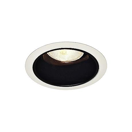 Halo 4 Black Baffle White Trim Recessed Light 48392