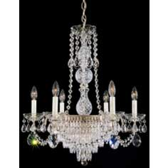 "Schonbek Rhone 26"" High Legacy Crystal Chandelier"