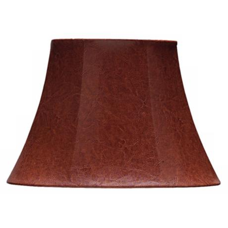 Oval Aged Leather Look Shade 5x8.25x9.5 (Spider)