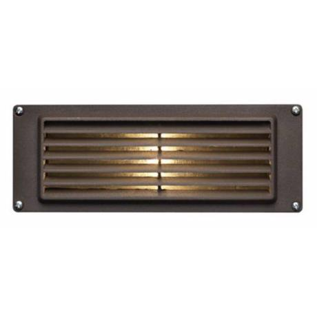 Hinkley Louvered Brick Finish Low Voltage Deck Light