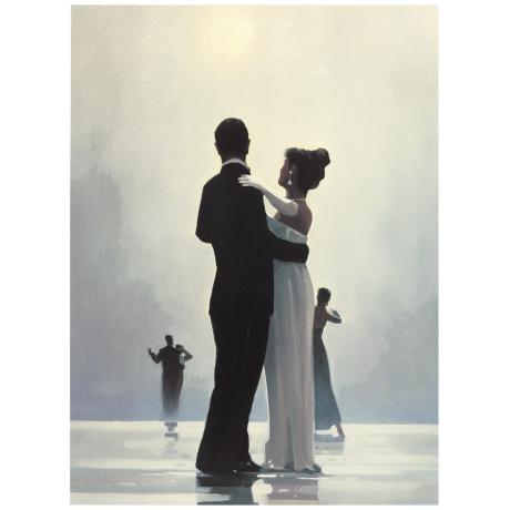 "Dance Me to the End of Love 24 3/4"" High Wall Art Print"