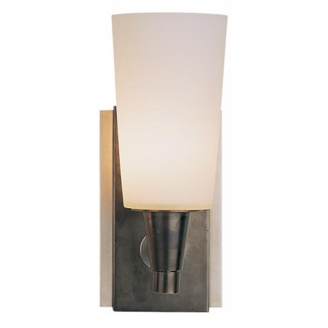 "Robert Abbey Rico Collection 9 1/2"" High Bronze Wall Sconce"