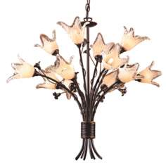 Fioritura Collection Twelve Light Chandelier
