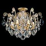 "Schonbek Renaissance Collection 20"" Crystal Ceiling Light"