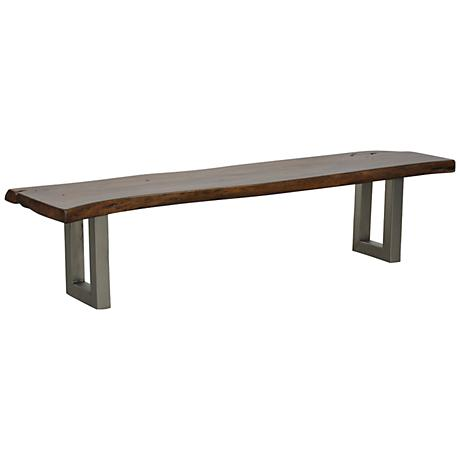 Kai Deep Walnut Bench