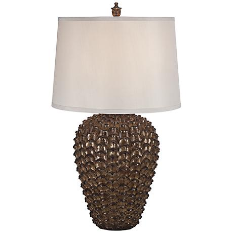 Montreat Pinecone Urn Table Lamp