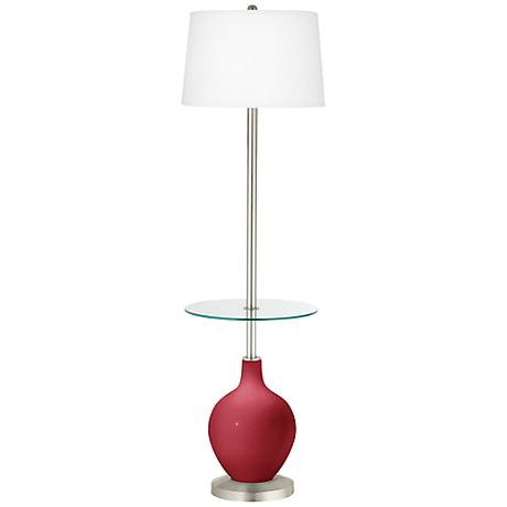Samba Ovo Tray Table Floor Lamp