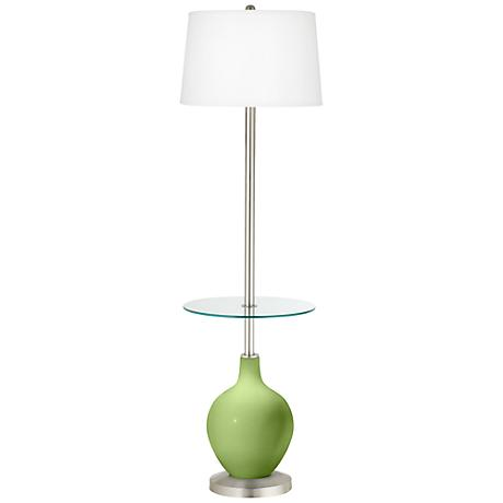Lime Rickey Ovo Tray Table Floor Lamp