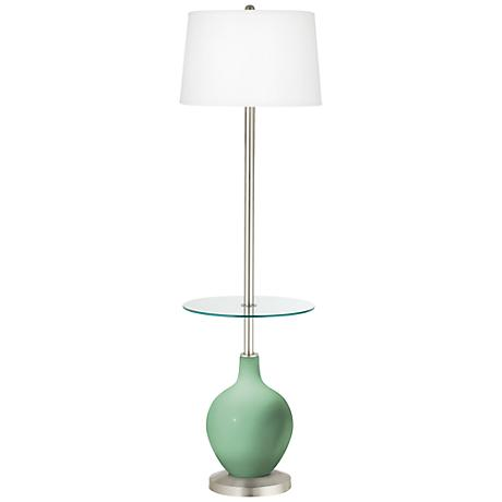 Hemlock Ovo Tray Table Floor Lamp