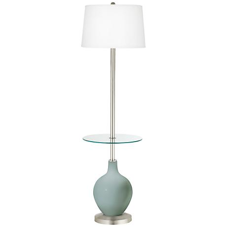 Aqua-Sphere Ovo Tray Table Floor Lamp