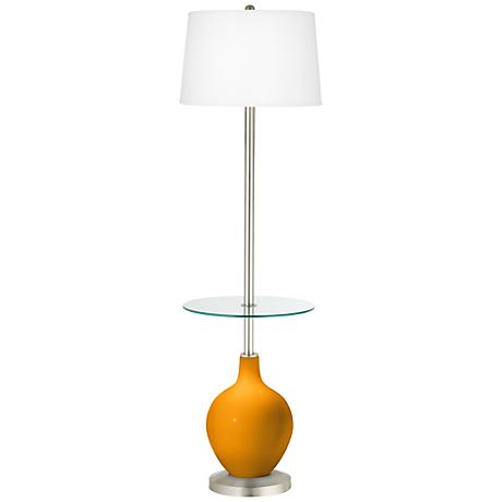 Mango Ovo Tray Table Floor Lamp